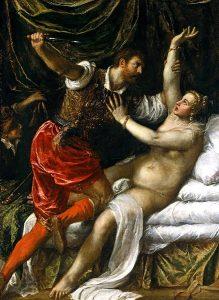 Lucretia and Tarquinio